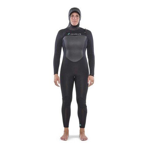 Ti Ember Hooded Chest Zip Winter Womens Wetsuit