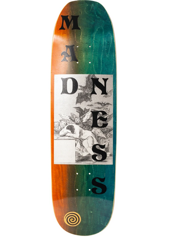 Dreams R7 Deck - Blue & Gold Boardshop