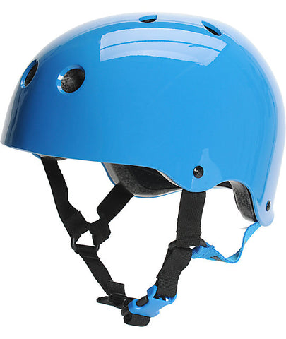 Summit CPSC Certified Helmet - Blue & Gold Boardshop