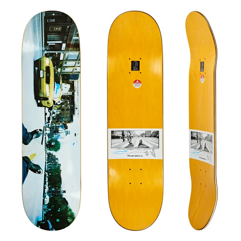 TEAM Happy Sad Houston St Deck - Blue & Gold Boardshop