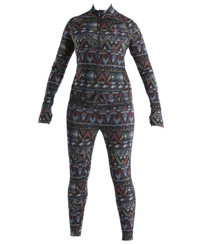 Women's Hoodless Ninja Suit - Blue & Gold Boardshop