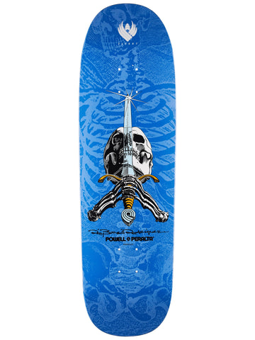 Skull and Sword Flight Deck - Blue & Gold Boardshop