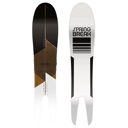 Night Hawk Swallow Tail Snowboard 19/20 - Blue & Gold Boardshop