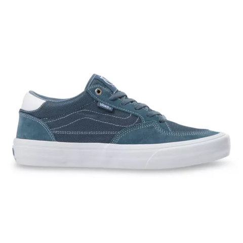 Mirage  Rowan Pro Skate Shoes - Blue & Gold Boardshop