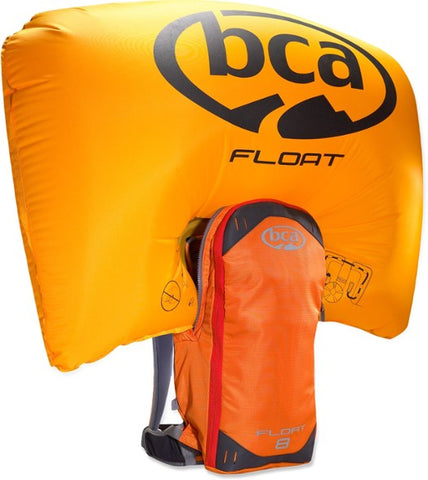 Float 8 Airbag - Blue & Gold Boardshop