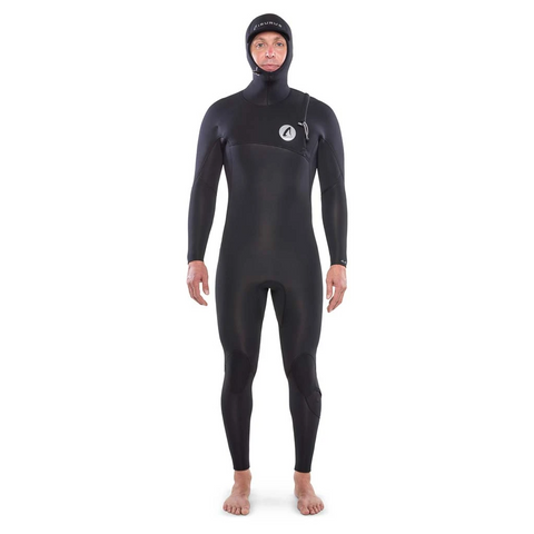 Ti Shield 4.4 Hooded Zip Free Wetsuit