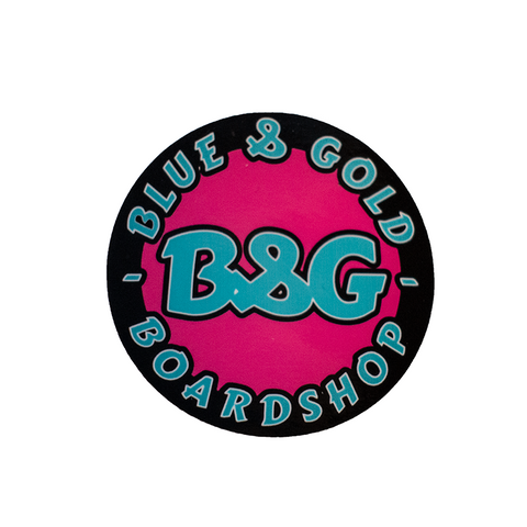 B&G Circle Sticker LTD