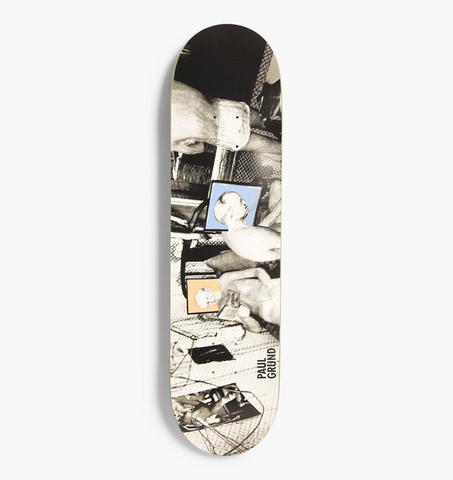 Grund Man Cave Deck - Blue & Gold Boardshop
