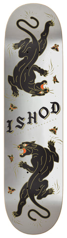 Ishod Catscratch Deck - Blue & Gold Boardshop