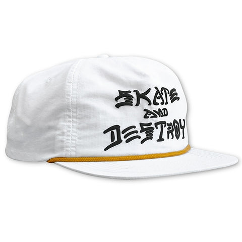 Skate And Destroy Puff Snapback