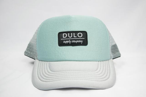 trucker hat, snapback hat, hat, women's hat, cap, headwear, water hat, dulo supply co