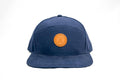 snapback hat, hat, headwear, men's hat, leather patch, dulo supply co.