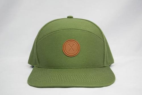 snapback hat, hat, headwear, leather patch, dulo supply co, men's hat, cap