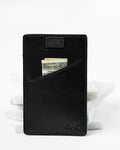 minimal wallet, slim wallet, thin wallet, leather wallet, pull-tab wallet, leather goods, card holder, leather card holder