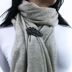 GAMENT Magnetic Fashion Accessories on a Scarf