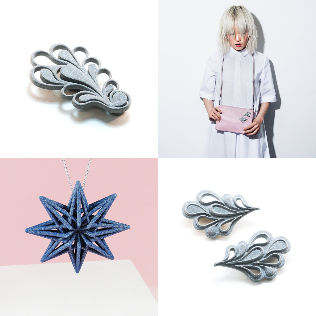 GAMENT 3D Printed Jewellery LookBook Layout