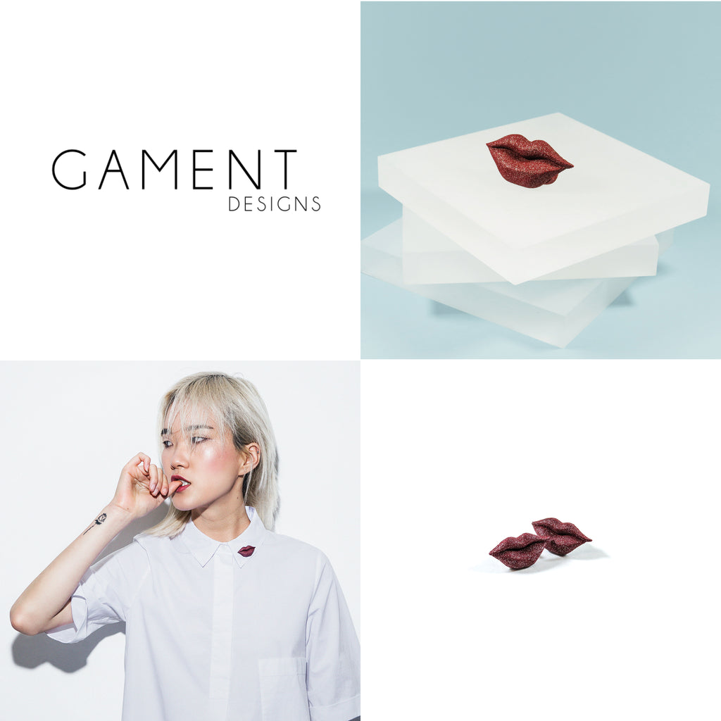 GAMENT Kisses Lookbook Layout