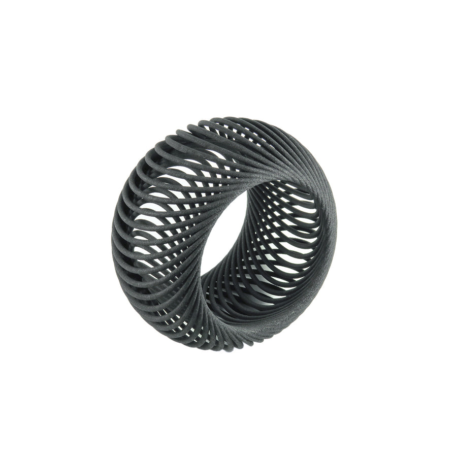Isolated image of the Giga Bangle in Carbon Black