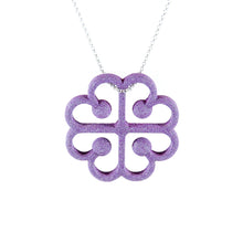 Love from Montreal Pendant in Amethyst Purple
