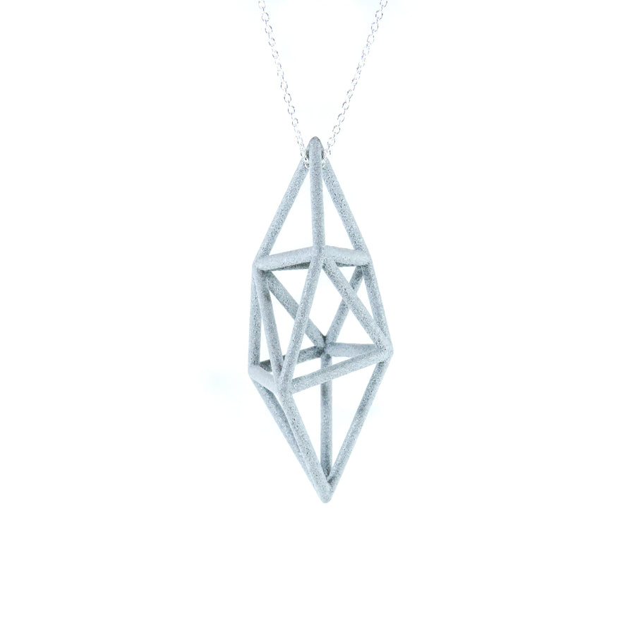 3D Printed Prism Pendant by GAMENT Designs