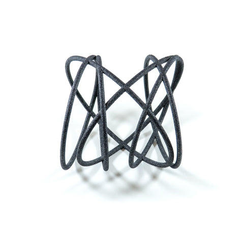 Orbit 3D Printed Bangle by GAMENT Designs