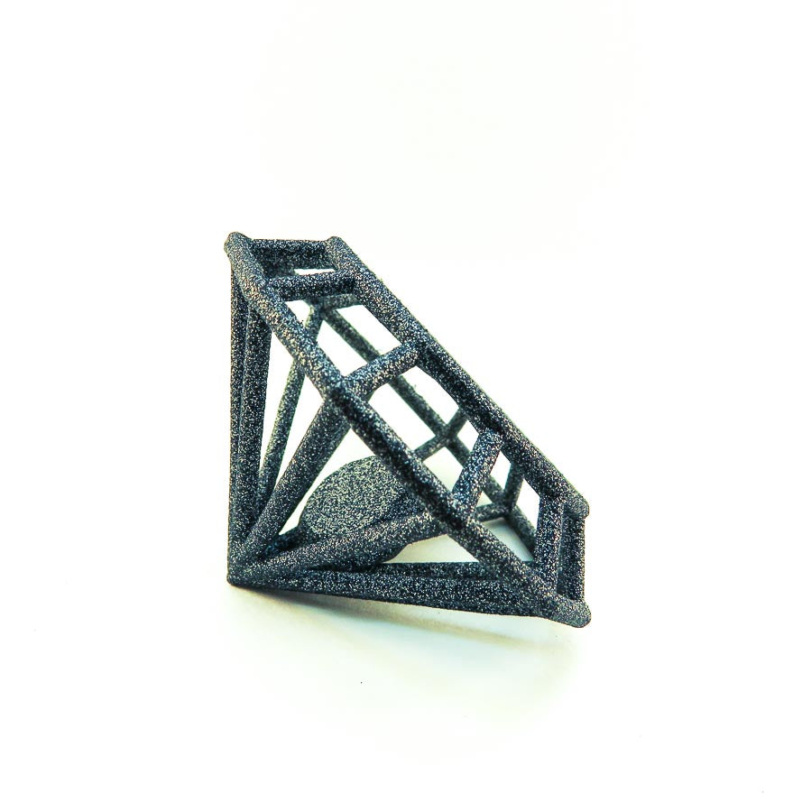 GAMENT 3D printed Gemology in Carbon Black