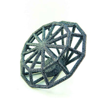 3D Printed Gemology in Carbon Black