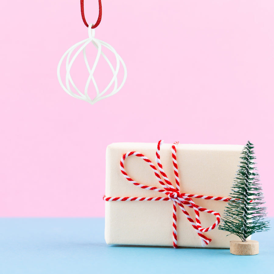 Twirl Holiday Ornament