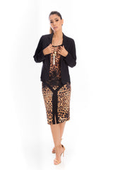 Blazer Body Fit Preto - Griffe.Z