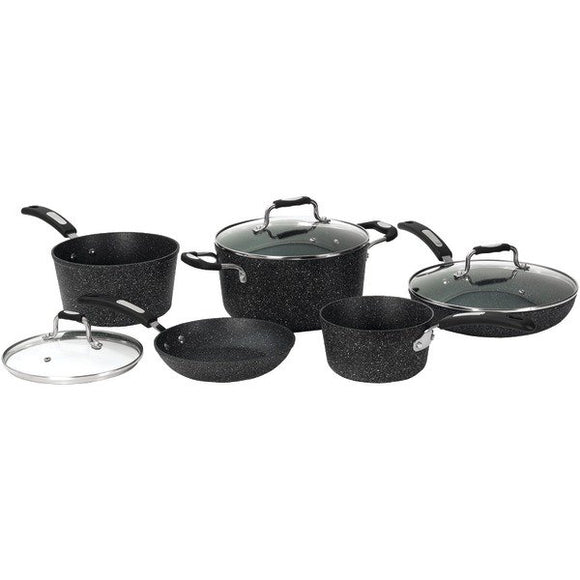 THE ROCK™ by Starfrit® 8-Piece Cookware Set with Bakelite® Handles