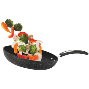 "THE ROCK™ by Starfrit® 11"" Fry Pan with Bakelite® Handle"