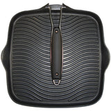 "10"" x 10"" Grill Pan with Foldable Handle"