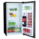3.2 Cubic-Ft Compact Refrigerator (Black)