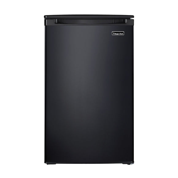 4.4 Cubic-Foot Compact All-Refrigerator (Black)