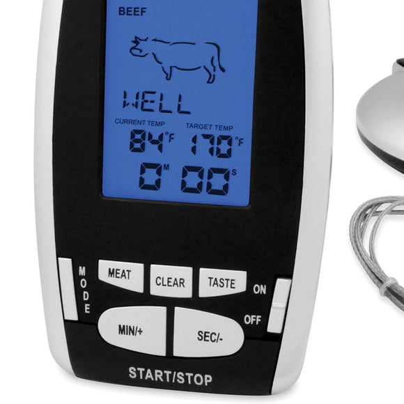 Wireless Remote Thermometer and Timer