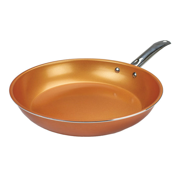Non-Stick Induction Copper Frying Pan (11-Inch)