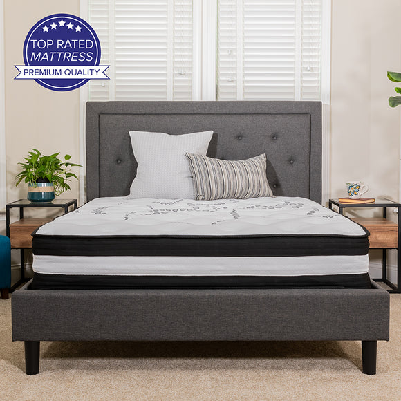Capri Comfortable Sleep 12 Inch Mattress in a Box
