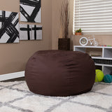 Oversized Solid Bean Bag Chair for Kids and Adults