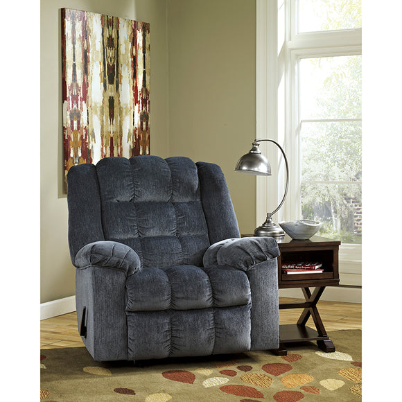 Signature Design by Ashley Ludden Rocker Recliner Twill