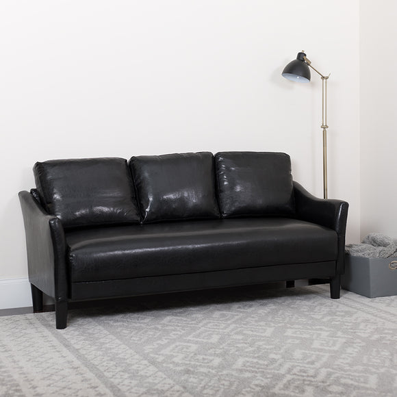 Asti Upholstered LeatherSoft Sofa