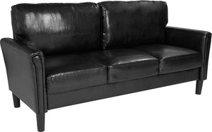 Bari Upholstered LeatherSoft Sofa