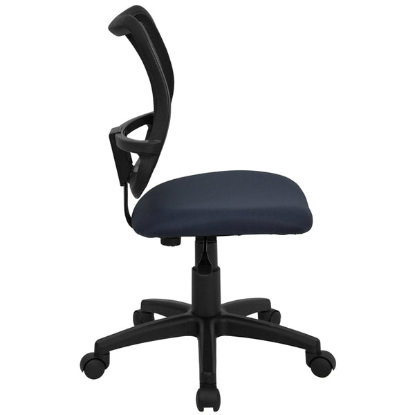 Mid-Back Mesh Drafting Chair with Adjustable Arms