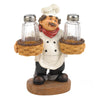 Chef Holder Salt &Pepper Shakers Set