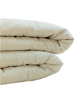 Natural organic Mattress topper is made for Cotton Case
