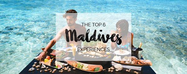 Top 6 experiences to have in Maldives according to Amy Seder and Brandon Burkley