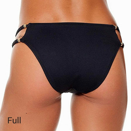 Anna Reversible Bikini Full Coverage Bottoms