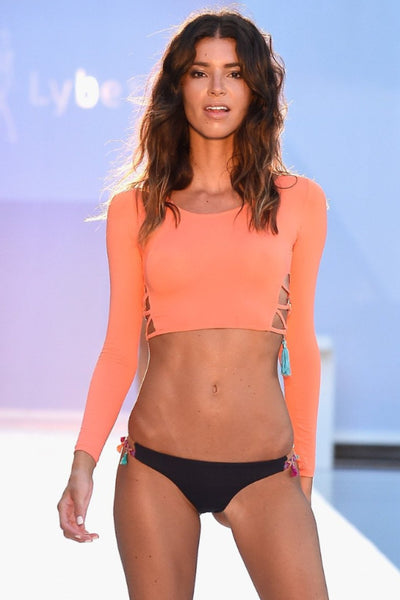 Kendall Top Orange