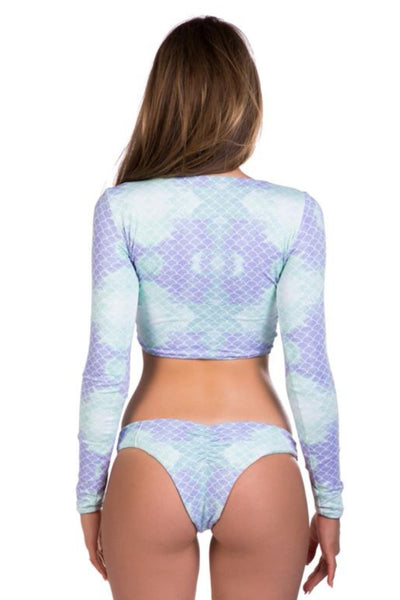 Mermaid Long sleeve top