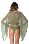 Voyage Top in Olive Green