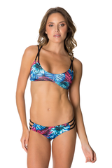 Capi Bikini in Midnight Palm